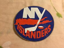 Vintage New York Islanders Hockey Sticker