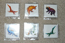 Lot of 12 Dinosaur temporary children's tattoos birthday party favor goody bags