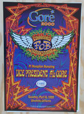 AL GORE FILLMORE POSTER Flying Other Brothers Grateful Dead Members Chris Shaw