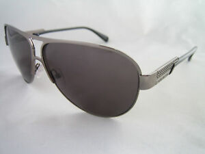 GIVENCHY SUNGLASSES GUNMETAL SWAROVSKI CRYSTAL SGV 327 GENUINE BNWT