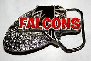 Atlanta Falcons NFL Football Team Logo Metal Belt Buckle NOS 1994 LE nice New