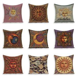 Picasso Plain Cushion Covers Sun Moon God Pillow Case Cover