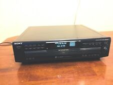 New listing Sony Cdp-Ce315 5 Cd Player Changer