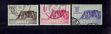 Norway # B1-B3 North Cape Issue Set of 3 Very Fine used