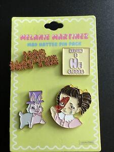 Melanie Martinez Pin Pack MAD HATTER