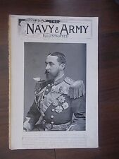 VINTAGE MAGAZINE THE NAVY & ARMY ILLUSTRATED VOLUME 1 No 2 JANUARY 3rd 1896