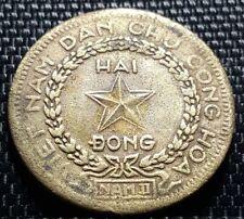 """1946 Vietnam Hai Dong coin """"Rare"""" dia 30mm (plus FREE 1 coin) #D2584"""