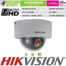 Hikvision Mini Ptz 3MP 2.8-12MM 3MP 1080P 4x Zoom IP67 vandalismo cámara de red IP