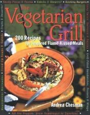 THE VEGETARIAN GRILL-Andrea Chesman-Paperback-ISBN 1558321276-1998
