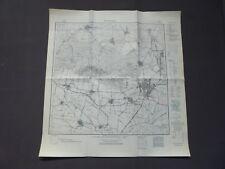Landkarte Meßtischblatt 3831 Schöningen, Wobeck, Esbeck, Räbke, um 1945