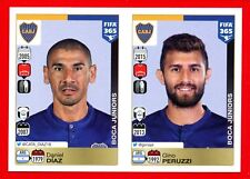 FIFA 365 2015-16 PANINI 2016 -Figurina Stiker- n. 74/75 -DIAZ-PERUZZI-BOCA J-New