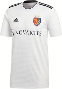 Adidas Herren Trikot Jersey Gr.M FC Basel 2018/19 Weiß 115298