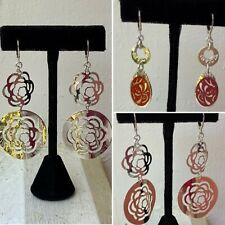Choice of NEW INVICTA DESIGNER Sterling Silver Drop Earrings