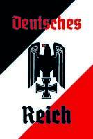 Deutsches Reich Motiv 1 Blechschild Schild gewölbt Metal Tin Sign 20 x 30 cm