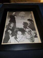 The Cure Close To Me Rare Original Radio Promo Poster Ad Framed!