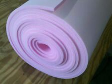 """1/2"""" Sew Foam Firm Pink Scrim Cloth Backed Premium By the Yard General"""