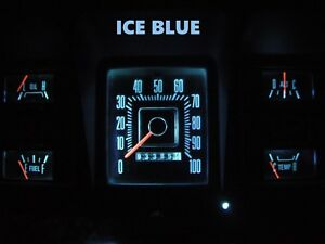Gauge Cluster LED Dashboard Bulbs Ice Blue For Ford 73 79 F100 - F350 Truck