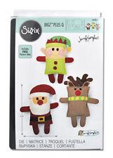 Sizzix Bigz Plus Q Die Santa Elf and Reindeer Cutting Die 662613