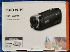 NEW Sony HDR-CX440 Handycam 9.2MP Camcorder Video Digital Camera