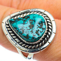 Tibetan Turquoise 925 Sterling Silver Ring Size 9 Ana Co Jewelry R48482F