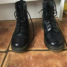 Women's Navy Blue Dr Marten Boots Size Uk 5