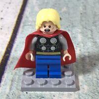 Lego Marvel MiniFigure - Super Heroes - Thor without beard - (sh098)