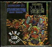 Frankenstein Drag Queens Viva Las Violence CD new Wednesday 13 Murderdolls