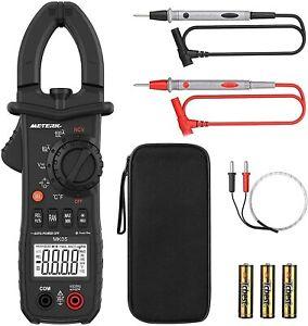 Meterk Digital Clamp Meter NCV AC / DC Spannung AC Strom Klemme Multimeter Y0G0
