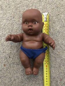 Australian Aboriginal Doll Baby Dark Brown 22cm