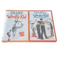 Diary Of A Wimpy Kid Rodrick Rules Greg Heffley School Family 2 DVD Lot