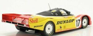NOREV 1:18  Porsche962C #17 2nd 24h LeMans 1988 Porsche Ludwig/Stuck/Bell 1/1000