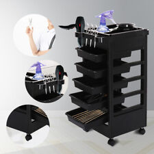 Salon Hairdresser Barber Beauty Spa Storage Rolling Trolley Drawer Coloring Cart