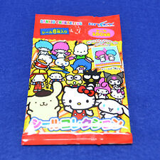 SANRIO Characters Sticker (1 Pack 6 Pieces) Hello Kity My Melody Pom Pom Purin