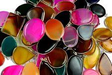 Multi Lace Agate Gemstone 925 Sterling Silver Overlay Lot Women Pendant BGJ-23