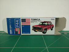 REPRODUCTION BOX for Tomica Blue Box No.F44 Chevrolet Truck