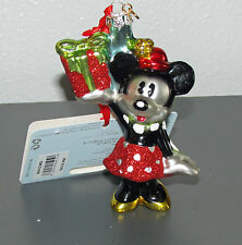 New Minnie Mouse Glass Sketchbook Ornament