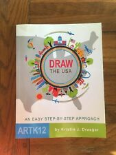 Draw The USA: an easy step-by-step approach (ARTL12)