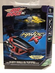 Air Hogs Rc Unopened Havoc R Yellow Helicopter