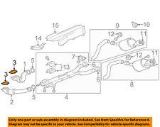 Chevrolet GM OEM 09-18 Corvette 6.2L-V8 Exhaust-Converter & Pipe Gasket 15272179