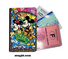 mickey mouse disney 01-013  étui pochette carte grise carte d'identité permis