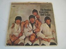 The Beatles Yesterday & Today Butcher Cover with Record Stereo ST2553 RARE