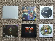 PlayStation 1 and 2 demo and Promo discs PS1 PS2 PAL including registration disc