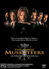 THE THREE MUSKETEERS DVD KIEFER SUTHERLAND CHARLIE SHEEN ***