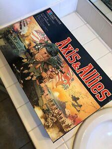 Milton Bradley Vintage 1984 Axis & Allies Spring 1942 Board Game