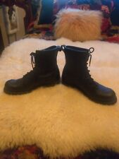 Frye logger boots woman's size 12 Biker grunge made in USA