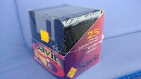 "Savit 1.44 MB High Density 3.5"" IBM Formatted Floppy Diskettes Pack of 25"