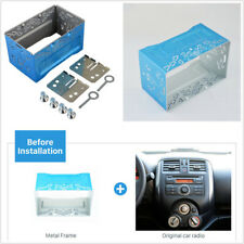 Stereo Audio Refitting 2Din Installation Metal Cage With Accessories For GPS Nav