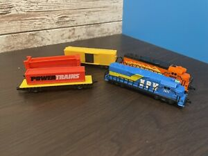 Jakks Pacific Power Trains Powertrains  Lots of Engines Cars Track 2012 2014