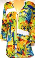 plus sz XS / 14 TS TAKING SHAPE Sketch Cardy sexy light colourful NWT rrp$110