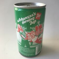 "Vintage 1979 7up ""America's Turning 7 up"" Collectible Soda Can - Arkansas"